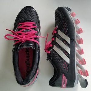 Adidas springblade ladies sz 8.5
